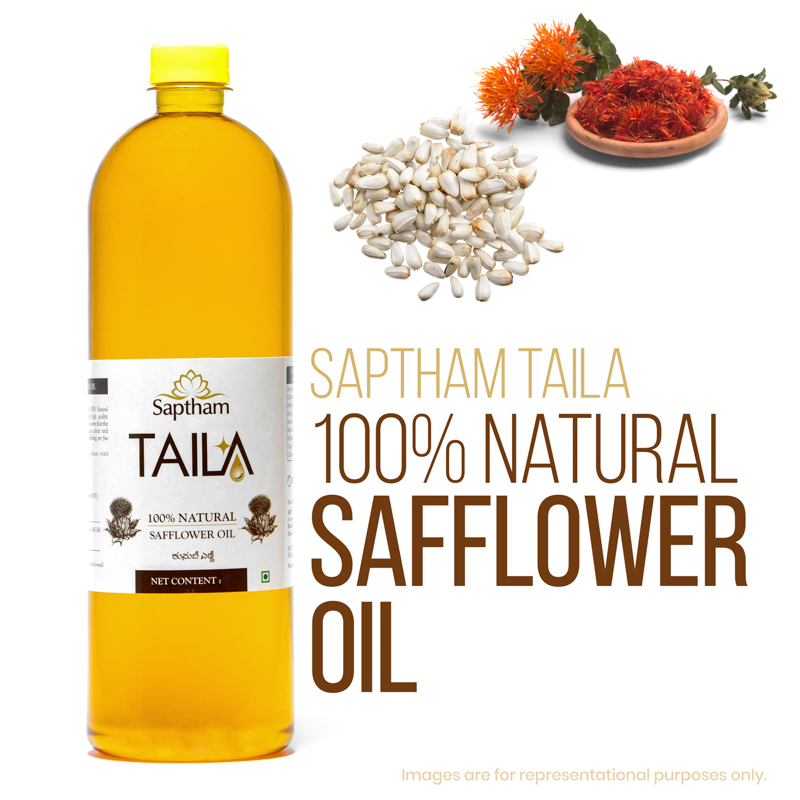 Pure Organic Safflower Oil