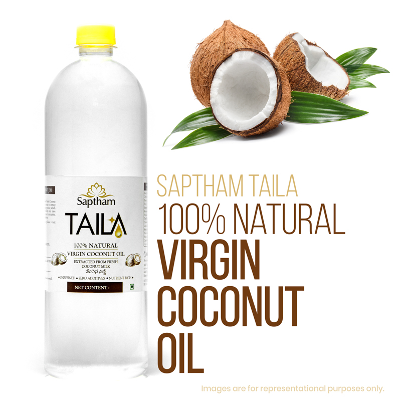 Organic Virgin Coconut Hair Oil